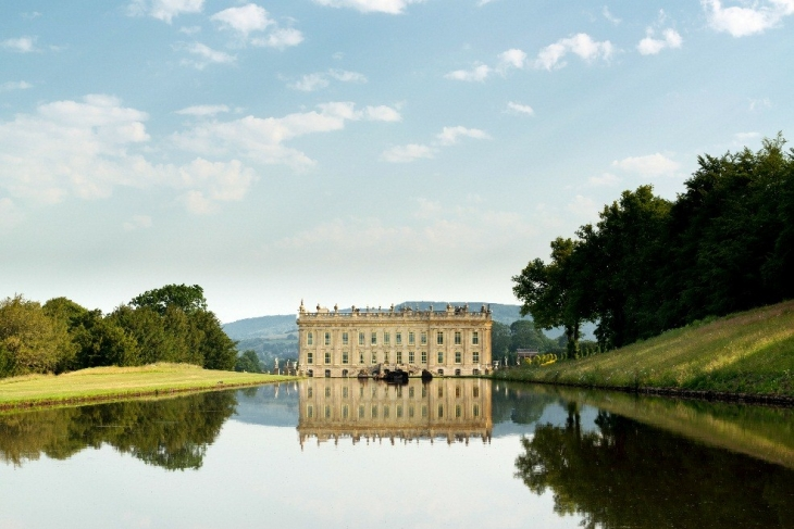 Chatsworth House, Bakewell in Derbyshire, UK (Cr. VisitBritain)