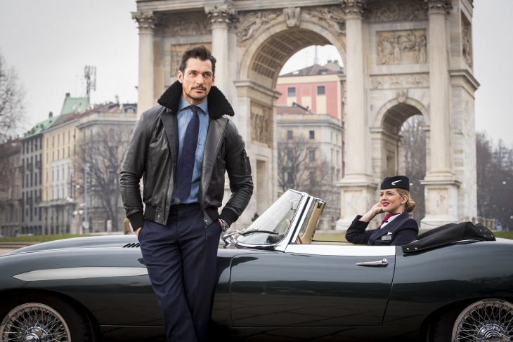 David Gandy for British Airways