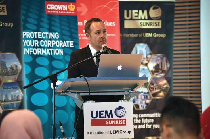 Speech by Mr. Leon Hulme, Managing Director of Crown Worldwide Group, Malaysia