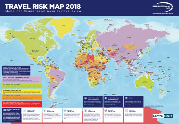 Us International Travel Warnings