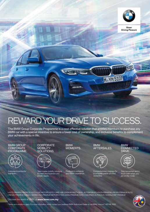 BMW 7% Discounts | British Malaysian Chamber of Commerce (BMCC)