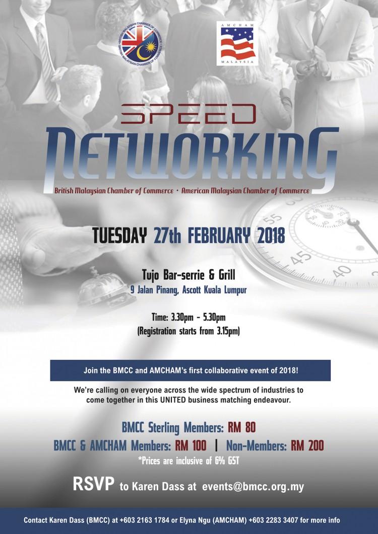 BMCC - AMCHAM Speed Networking