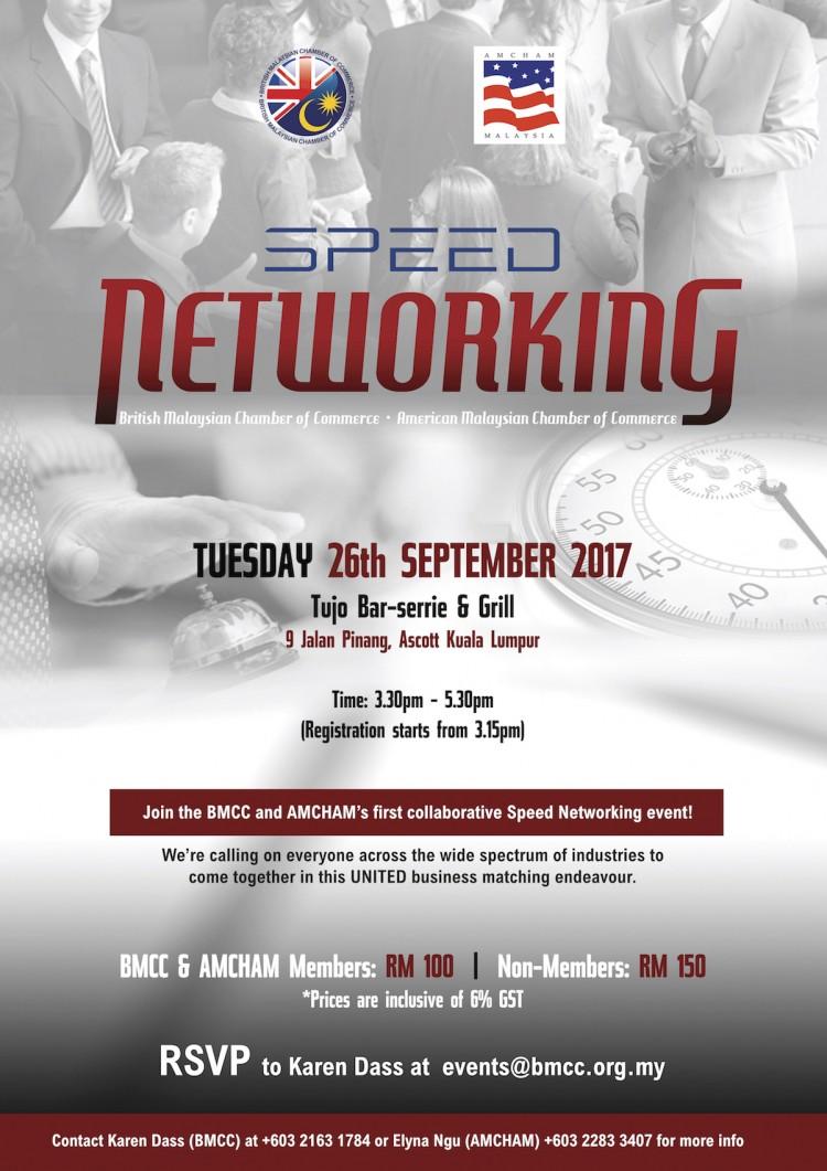 Speed Networking - BMCC & AMCHAM