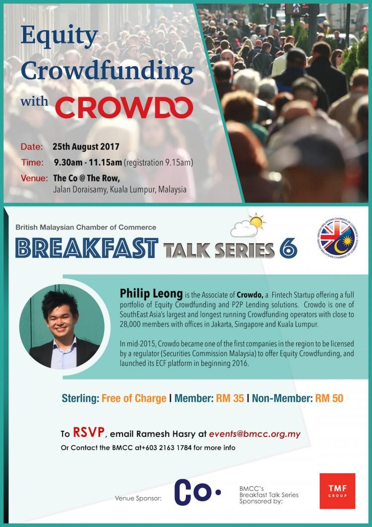 BMCC Breakfast Talk Series #6
