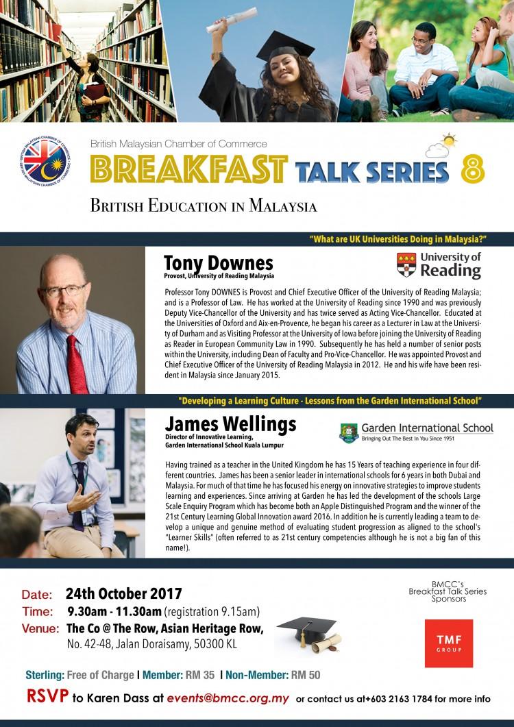 BMCC Breakfast Talk Series #8