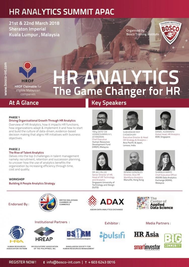 HR Analytics Summit APAC 1st Edition