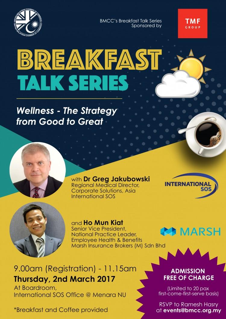 BMCC Breakfast Talk Series #1