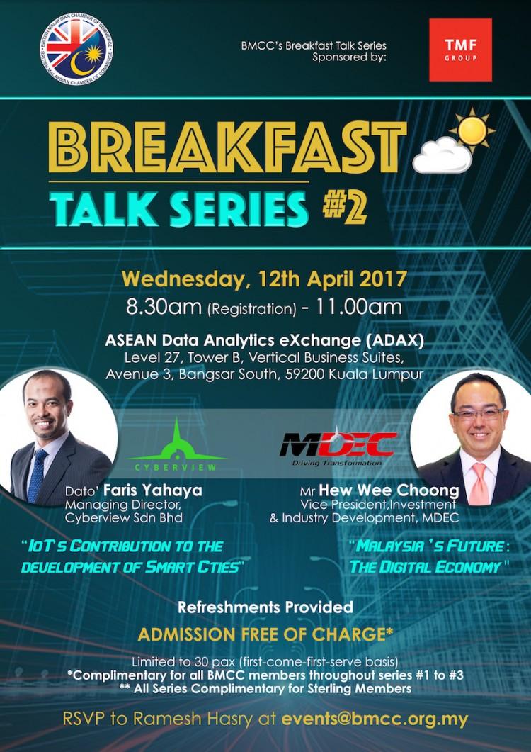 BMCC Breakfast Talk Series #2