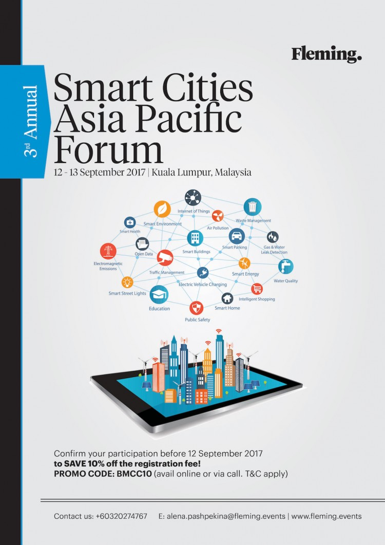 3rd Annual Asia Pacific Smart Cities Forum by Fleming