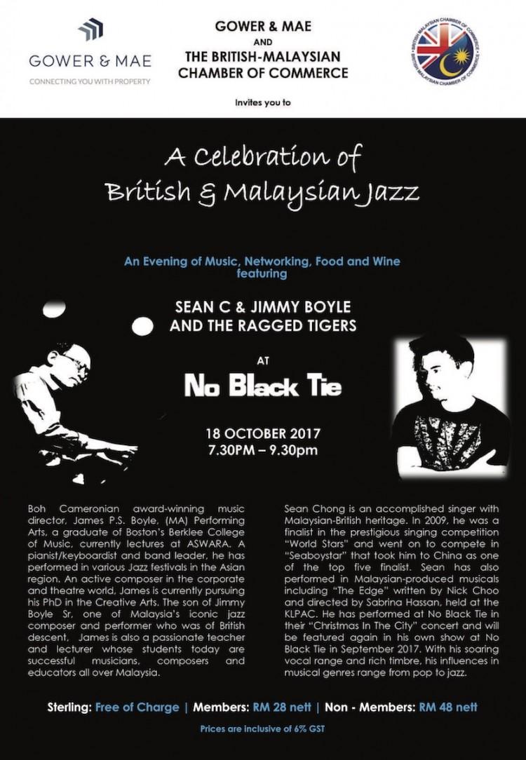A Celebration of British & Malaysian Jazz