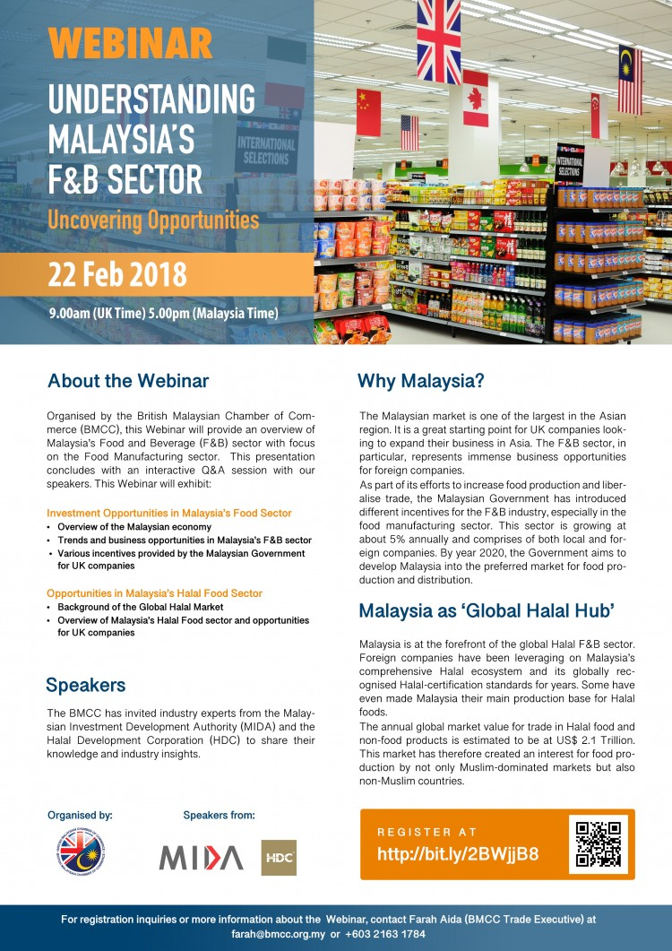 Webinar: Understanding Malaysia's F&B Sector