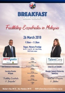 Breakfast Talk Series : Facilitating Expatriates in Malaysia