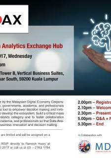 Visit to ASEAN Data Analytics Exchange Hub