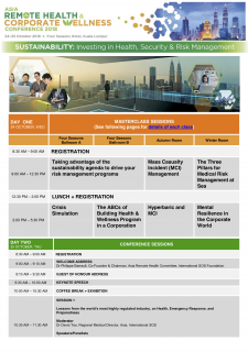 Asia Remote Health & Corporate Wellness Conference 2018
