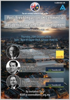Post-Brexit Impact on UK Commercial & Residential Investment and Development