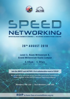 BMCC - JACTIM Speed Networking