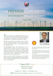 BMCC - Shell Premier Luncheon: Sustainability in Business