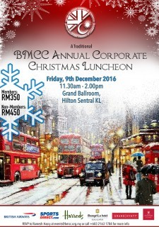 BMCC Annual Corporate Christmas Luncheon 2016