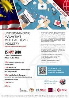 Webinar: Understanding Malaysia's Medical Device Industry