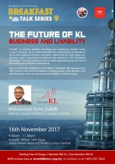 "Breakfast Talk Series 9: ""The Future of KL: Business & Livability"""