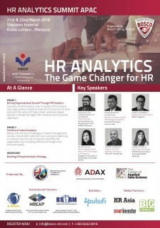 HR Analytics Summit APAC 1st Edition
