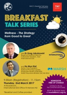 BMCC Breakfast Talk Series #1