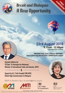 Brexit & Malaysia: A New Opportunity