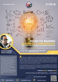 Road to Raising Business Confidence