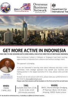 One-to-One Sessions with Chris Wren, ED of BritCham Indonesia