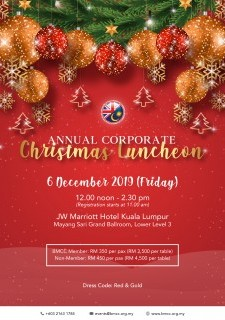 BMCC Annual Corporate Christmas Luncheon 2019