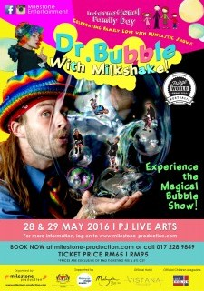 Dr Bubble with Milkshake LIVE at PJ Live Arts