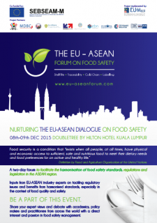 The EU-ASEAN Forum on Food Safety
