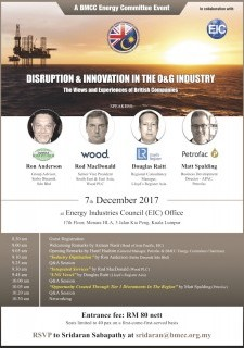 "BMCC Energy Committee: ""Disruption & Innovation In The Oil & Gas Industry"""