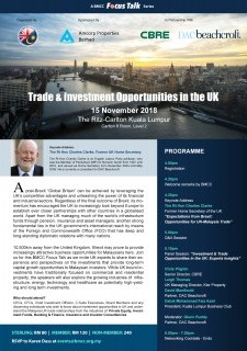 Trade & Investment Opportunities in the UK