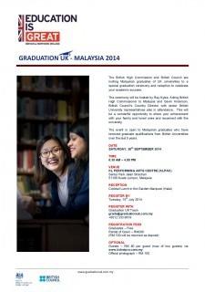 Graduation UK - Malaysia