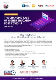 The Changing Face of Higher Education Post COVID-19