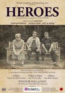 British Academy of Performing Arts presents: HEROES