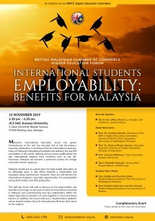 International Students Employability: Benefits for Malaysia