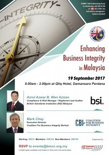 Enhancing Business Integrity in Malaysia with BSI and CBI