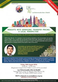 Insights Into Managing Transfer Pricing: A Legal Perspective