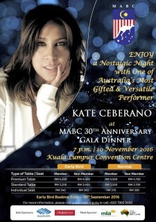 MABC's 30th Anniversary Gala Dinner