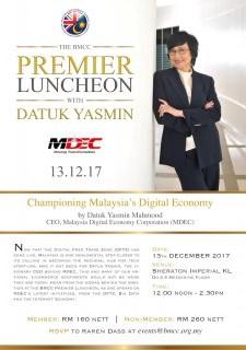 BMCC - MDEC Premier Luncheon