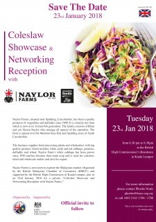 Coleslaw Showcase & Networking Reception with Naylor Farms