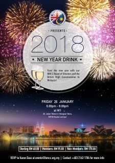 BMCC New Year Drink 2018