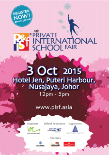 The Private & International School Fair is back in Johor for the 4th time!