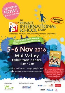 8th Private & International School Fair 2016