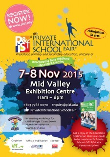 The Private & International School Fair in Kuala Lumpur