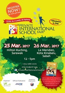 The Private & International School Fairs in East Malaysia!