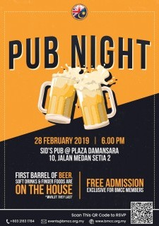 BMCC Pub Night