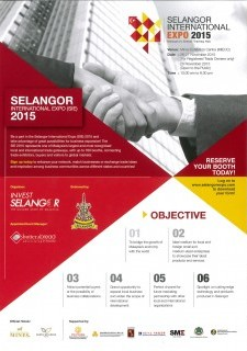 Book Your Complimentary Booth at Selangor International Expo 2015